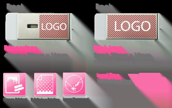 Rotator USB Stick Print Area