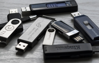 collection of usbs