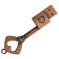 Vintage Key USB Drive