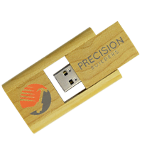 Wooden Flip USB