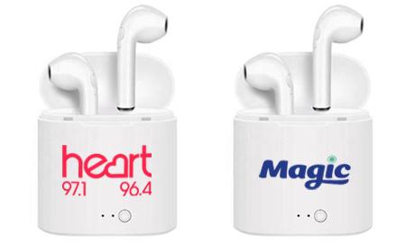 Logo Branded EarPods