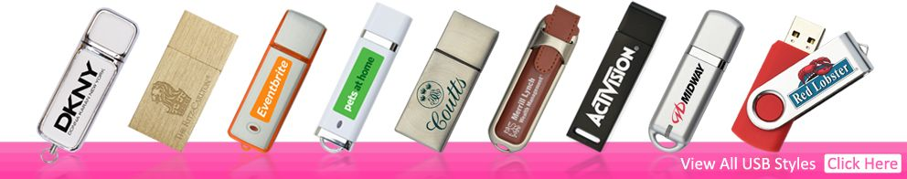 All Branded USB Memory Sticks