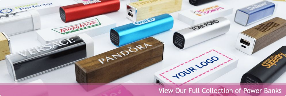 Logo Branded Power Banks