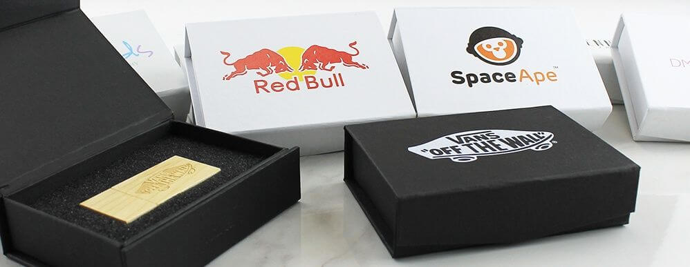 Branded USB Packaging & Gift Boxes